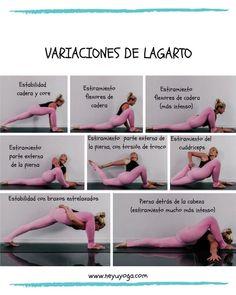 """tutoriales de yoga on instagram """"¿cómo hacer la postura"""