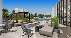 Cambria Hotel and Suites El Segundo designed by Studio HBA