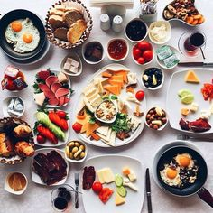 Breakfast is typically eaten in early to mid morning, it is a big meal for turks full of nutrition; traditional Turkish breakfast consists of tea not coffee, cornbread, multi grain village bread and Turkish bagel or sesame covered donut, referred to as simit is eaten with cream of milk, olives, honey, feta cheese and eggs. During the summertime, the Turkish also eat cucumber, peppers and green tomatoes along with their basic breakfast.