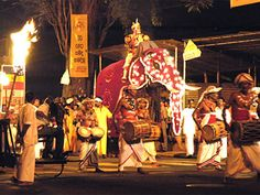 The Kandy Esala Perahera is one of the oldest and grandest of all Buddhist festivals in Sri Lanka,