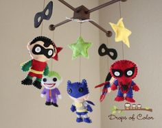 The Best Geek-Themed Baby Nurseries And Nursery Decorations - Homes and Hues - felt joker!
