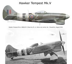 Ww2 Aircraft, Fighter Aircraft, Military Aircraft, Fighter Jets, Fighting Plane, Hawker Tempest, Hawker Typhoon, Hawker Hurricane, Ww2 Planes
