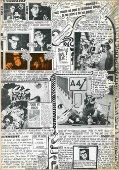 Martin Sharp, back cover of Oz no. 1