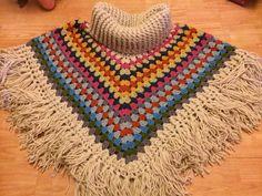 Simply Crochet Cowl Neck Poncho