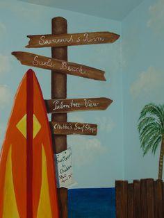 Beach Mural Granada Hills mural idea