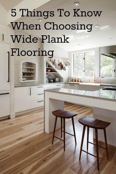 Five Things to Know When Choosing Wide Plank Flooring