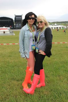 ROCKNESS 2012! Hunter Boots, Rubber Rain Boots, Shoes, Style, Fashion, Swag, Moda, Zapatos, Shoes Outlet