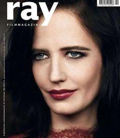 Eva é capa da revista Ray Film Magazine deste mês  Eva is the cover Ray Film Magazine this month  #evagreenfans #evagreen #actress #missperegrineshomeforpeculiarchildren