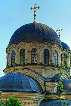 Church of Michail, Metropolitan of Kiev, Ukraine Dome Ceiling, Kiev Ukraine, Mosques, Ceilings, Temples, Roads, Taj Mahal, Cities, Bbq