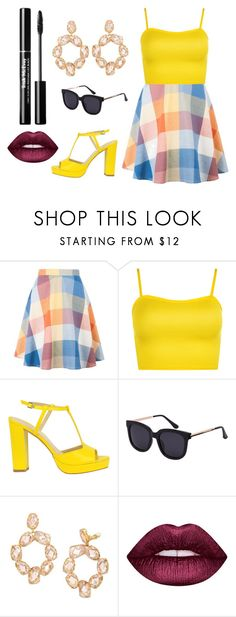 """No One Can Stop"" by sarahsasadoce3 ❤ liked on Polyvore featuring WearAll, Tory Burch and Lime Crime"