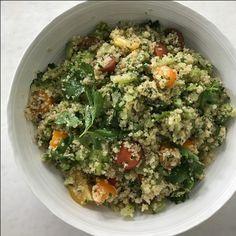 Healthy Appetite: Parsley-Whole Grain Salad