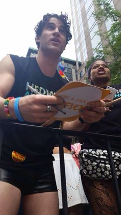 Happy Pride y'all! Darren Criss,  #HedwigOnBway #NYCPride. 6/28/15