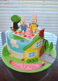 Max and Ruby Cake- probably my favorite that I've seen. So cute, love the colors and detail