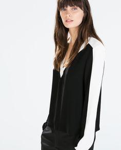 Image 2 de TOP À MANCHES LONGUES de Zara