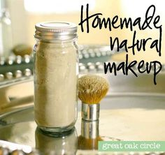 E maquiagem mineral.