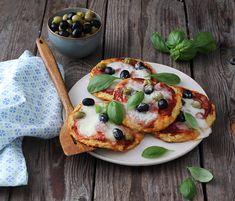 Mozzarella, Vegetable Pizza, Vegetarian, Vegetables, Breakfast, Food, Morning Coffee, Essen, Vegetable Recipes
