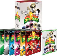 Mighty Morphin Power Rangers - Finalized Boxes for 'Seasons 1-7: From Mighty Morphin to Lost Galaxy'