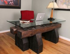 Creative desk and workstation for any home office