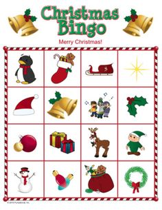 @Emily Schoenfeld Eoff  Activity for after school or kid's camp or kid's corner  Fun game for Christmas