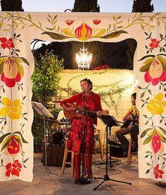 Scandinavianinspired curtain for stage door HouseThatLarsBuilt