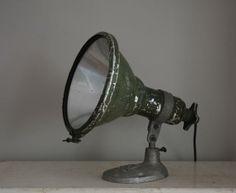 Industrial Lamp on Stand @ DeTuinKamer