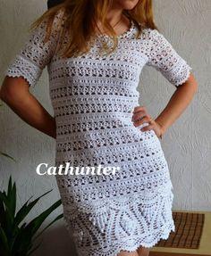 Katia Ribeiro Moda e Decoração Handmade : Vestidos em Crochê