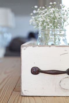 This rustic Wood Box