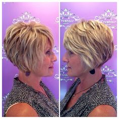 Short haircuts for women over 50 - hair cuts - # for . - Haar ideen - Short haircuts for women over 50 - hair cuts - # for . Layered Haircuts For Women, Short Bob Haircuts, Short Hairstyles For Women, Hairstyles Haircuts, Short Layered Hairstyles, Thick Hairstyles, Short Layered Bob Haircuts, Celebrity Hairstyles, Haircuts For Men