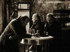 Stalker (1979)  Andrei Tarkovsky - Men at the bar table looking at different directions