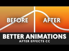 T039 Make your animation BETTER guaranteed (After Effects CC) - YouTube