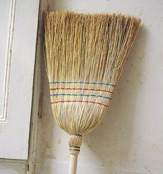rice straw broom - eco-household