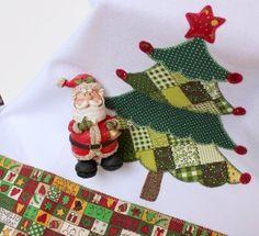 Christmas tree - kitchen towel