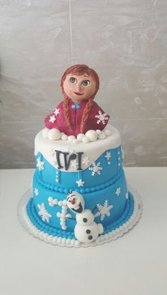 For all Ana Fans. Ana made with fondant Snow Globes, Fondant, Fans, Desserts, Home Decor, Galaxies, Pies, Tailgate Desserts, Deserts