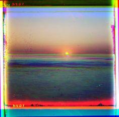 """""""sunset at sea"""" Sergei Mikhailovich Prokudin-Gorskii"""