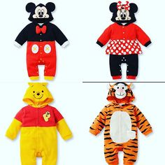 #halloween #costumes for $15 each! Order yours today! #minnie #minniemouse or #mickey #mickeymouse or #winniethepooh or #tigger
