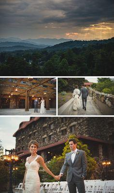 The Grove Park Inn Wedding by Two Ring Studios