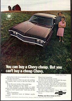 1976 Chevrolet Ad Impala Sport Coupe Vintage by SkippiDiddlePaper