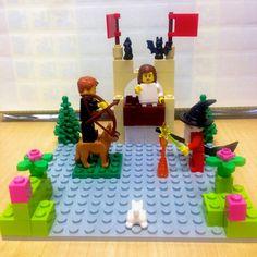 Une scène faite de LEGO®.