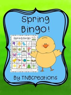 Your students will love playing Spring Bingo! In this product you will receive the following: 30 different printable Bingo cards (24 spaces of pictures plus 1 free space on each card) Calling cards with each picture and words that say the name of the image to be cut out Preschool Learning, Kindergarten Classroom, Classroom Ideas, Bingo For Kids, Spring Party, Free Space, Calling Cards, Bingo Cards, Holiday Activities