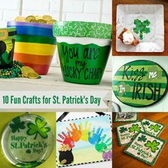 These 10 St. Patrick's Day crafts are so fun - which one will you make first?