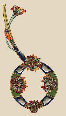 lettrines celtes