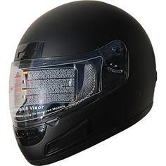 7a7485e5 DOT Full Face Motorcycle Sports Bike Helmet 898 Matt Black (L) #Bike, #Black,  #Face, #Full, #Helmet, #MATT, #Motorcycle, #Sports, #Under25