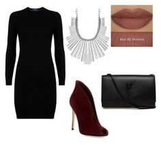 """""""Night out"""" by d-luna12 on Polyvore featuring Polo Ralph Lauren, Gianvito Rossi, Yves Saint Laurent, Derriére and Lucky Brand"""