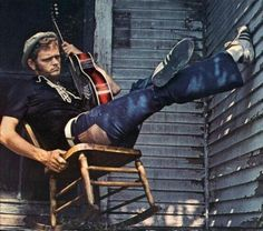 "Jerry Reed - top flight session guitarist who became a star country singer-songwriter with a knack for narrative and humorous songs. He also costarred in several films with Burt Reynolds. His biggest hit was, ""When You're Hot, Your Hot."""