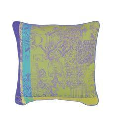 Mille Patios Majorelle Cushion Cover, Cotton-2ea  Garnier-Thiebaut