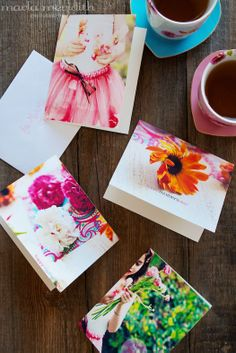 "*FREEBIE* ""Pretty Flowers"" Mother's Day Card Printables on FamilyFreshCooking.com"