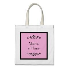 Shop Maid of Honor Tote Bag -- Custom Color created by KathyHenis. Shabby Chic Wedding Invitations, Chalkboard Wedding Invitations, Wedding Invitation Design, Matron Of Honour, Maid Of Honor, Wedding Themes, Wedding Colors, Wedding Decor, Custom Bags