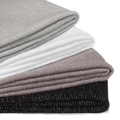 Plaid 130x170cm aux fils pailletés (plusieurs coloris disponibles) - Ewan - Les plaids - Textiles et tapis - Salon et salle à manger - Décoration d'intérieur - Alinéa