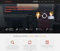 Gründer und Karriere MagazinTesteron Plattform zum gegenseitigen testen von Software