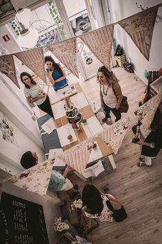 Talleres Craft para fiestas divertidas. Talleres de manualidades en Sevilla. Renata Enamorada. Fotografía: Mauricio Buhigas.